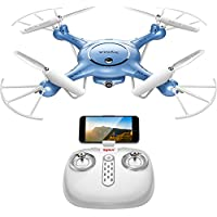 DoDoeleph Syma X5UW FPV 6-Axis Gyro RC Headless Quadcopter Drone with HD Wifi 720P Camera