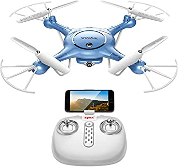 DoDoeleph Syma FPV 6-Axis Quadcopter Drone with Wifi 720P Camera