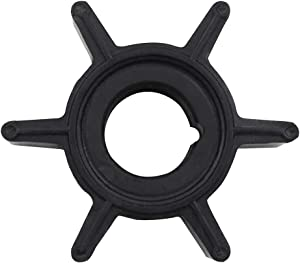 JINGYU Water Pump Impeller for 2/2.5/3.5/4/5/6 HP Nissan Tohatsu Outboard Replacement 369650211M 369-65021-1
