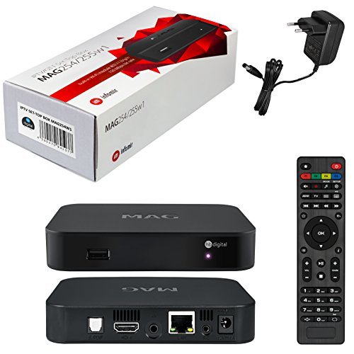 - Genuine MAG 254 W1 Model Set-TOP-Box with 150Mbps Built-in WiFi by INFOMIR