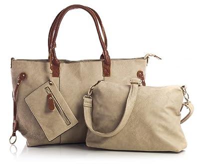Big Handbag Shop Womens Shoulder Bag with Medium Long Strap and a ...