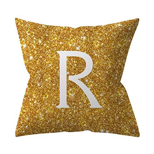 Lataw Pillow Cover Case Christmas Cushion Office Sofa Geometric Kinder Zimmer Dekoration Brief Kissen Englisch Alphabet…