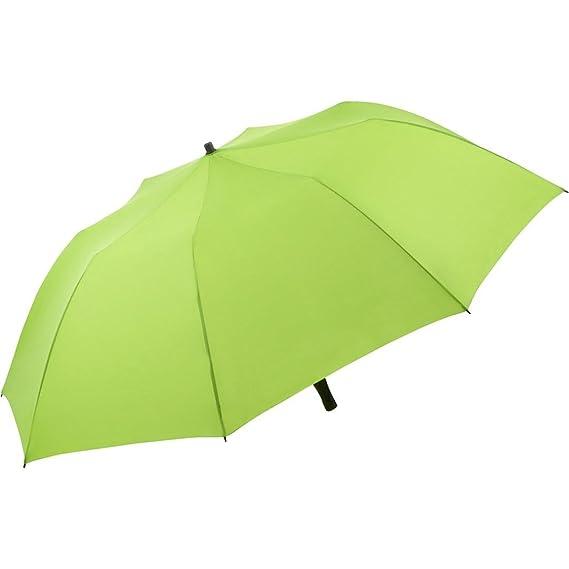 10c07b8703e FARE Travelmate Camper Foldaway Beach Umbrella Parasol UV50+ - Green  Amazon .co.uk  Clothing