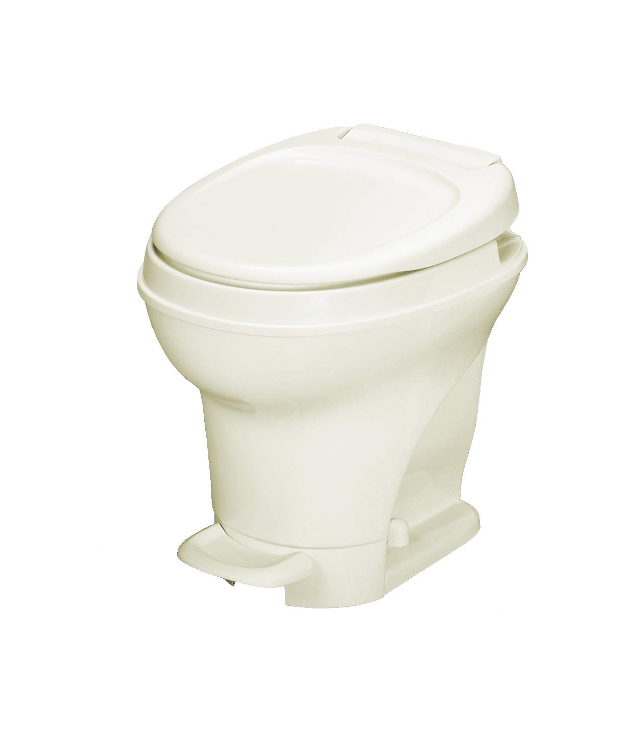 Aqua-Magic V RV Toilet Pedal Flush /High Profile / White, by Thetford - 31650 NOSYJ