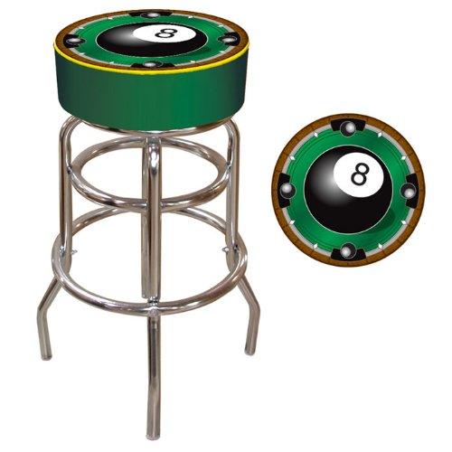8 Ball Padded Bar Stool - 2