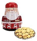 Walkers Cookies Tin Santa Claus