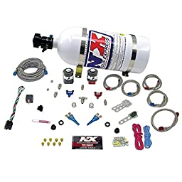 Nitrous Express 20816-12 50-300 HP EFI Dual Nozzle System with 12 lbs. Composite Bottle for BMW