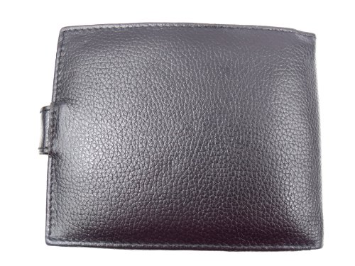 Leather Emporium Wallet Box Leather With Gift Black Emporium Leather Mens EUYwT5xq
