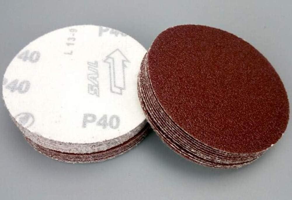 grana 800 HNLZGL///20 pezzi 3 pollici 75mm-80mm rotondi carta abrasiva dischi di sabbia grana 60-2000 disco abrasivo a strappo per grana levigatrice