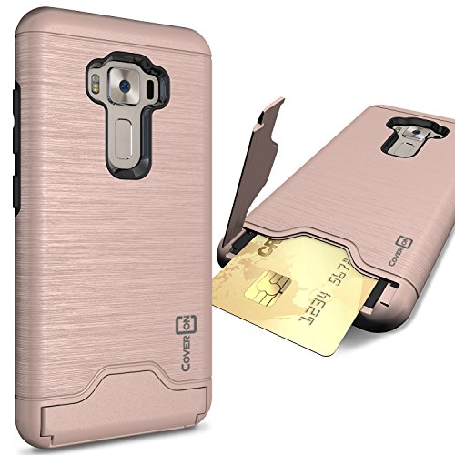 Slim Armor Case For Asus Zenfone 3 Max (Gold) - 4