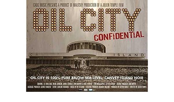 Amazon com: Oil City Confidential 11 x 17 Movie Poster