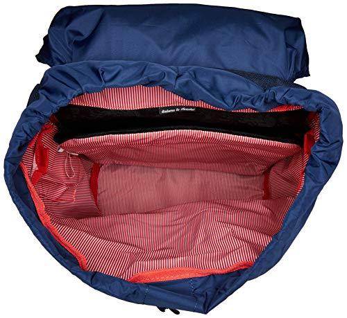 Herschel Little America Backpack, Crosshatch/Medieval Blue, One Size