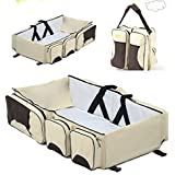 RONSHIN Baby Portable Travel Beds Mattress Foldable...