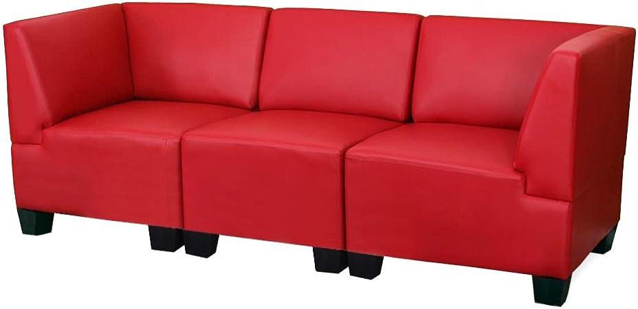 simili cuir crème Modulaire fauteuil fauteuil salon Lyon