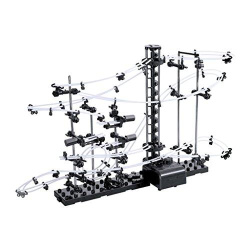 Jesse Level-1 Runs Roller Coaster Kids Children Marble Space Rail Building Kit Toys