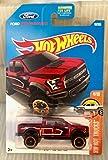 hot wheels ford f 150 - Hot Wheels 2017 HW Hot Trucks '17 Ford F-150 Raptor 10/365, Maroon