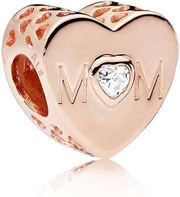 ciondolo pandora cuore di mamma