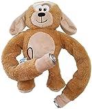 MyLight HLCS014DG Hug Light Buddies Plush Dog Hands Free Book Light