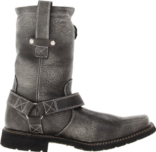 Chicago Men's Charcoal 11 Harness Durango Boot inch n5vAwYqx