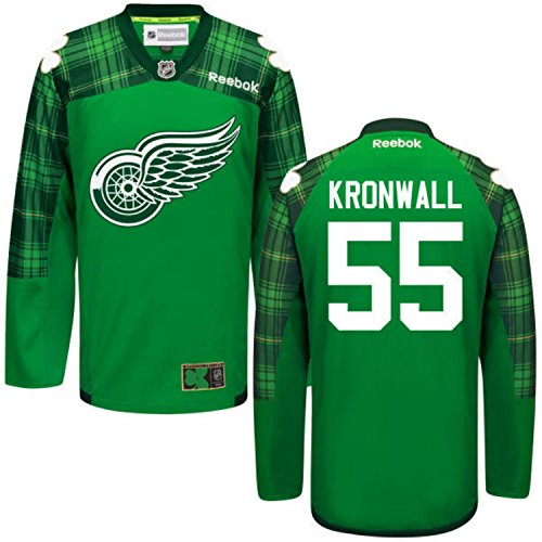 Detroit Red Wings St. Patrick Jersey, Red Wings St ...