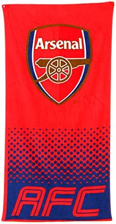 F.C.Arsenal Offizielles verblassen Wappen Design Badetuch