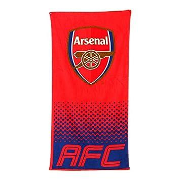 Equipo de Fútbol Oficial suave playa/toalla (algodón), diseño de palos de (de diferentes para elegir.), Arsenal FC: Amazon.es: Deportes y aire libre