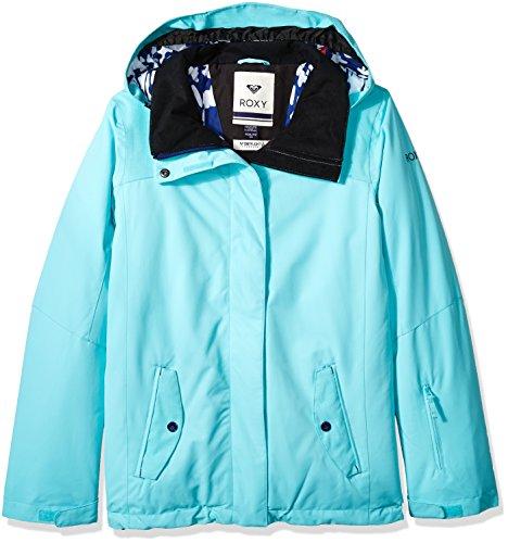 067b225d87d8 Amazon.com  Roxy Girls  Big Jetty Solid Snow Jacket  Clothing