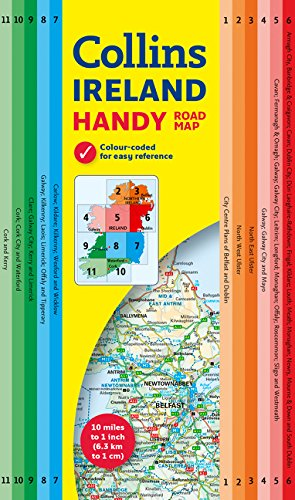 (Collins Handy Map Ireland )