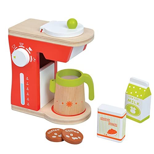 Lelin Toys - 31091 - Jeu D'Imitation - Cuisine - Machine À Café - Ensemble