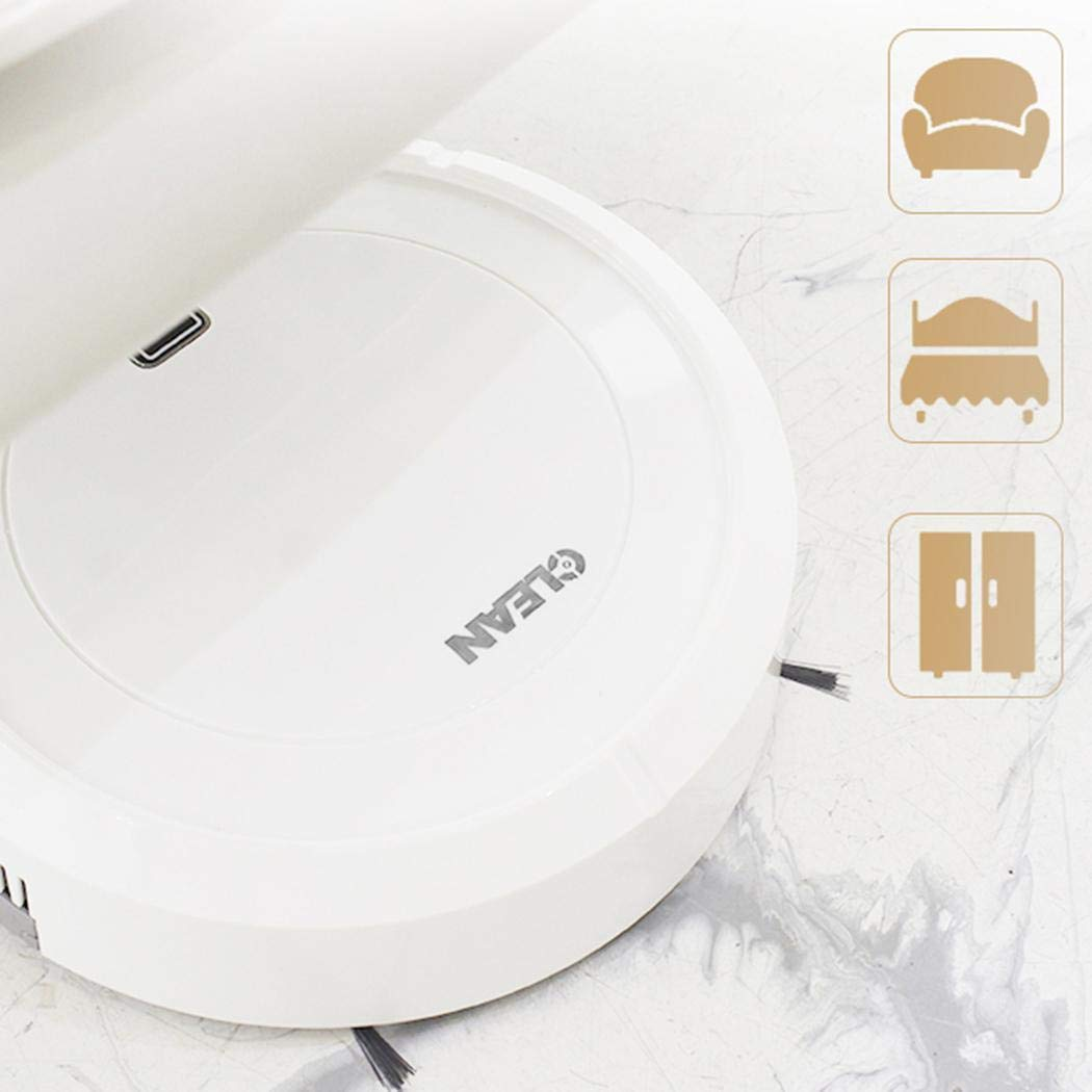 Kuerli USB Rechargeable Household Electric Vacuum Cleaner Smart Automatic Rechargeable Floor Cleaner Robot Floor Cleaning Machines