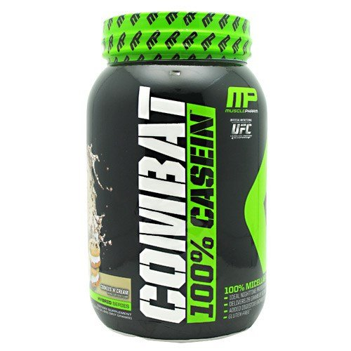 MusclePharm Combat 100 % caséine Cookies ' n Cream 2lb