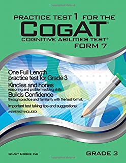 Practice test for the cognitive abilities test cogat multilevel practice test 1 for the cogat form 7 grade 3 level 9 fandeluxe Images