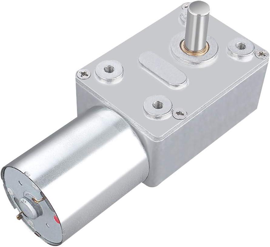DC 12V Motor de Reducción de Velocidad Motor de Engranaje Motor de Alta Tensión Reversible (20RPM)