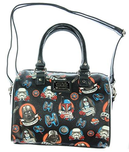 Loungefly X Star Wars Dark Side Tattoo Allover Print Handbag