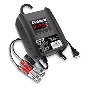 DieHard 71321 Platinum Smart Battery Charger & Maintainer (6/12 Volt 6 Amp)