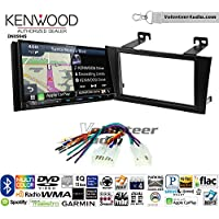 Volunteer Audio Kenwood Excelon DNX994S Double Din Radio Install Kit with GPS Navigation Apple CarPlay Android Auto Fits 2000-2004 Non Amplified Toyota Avalon