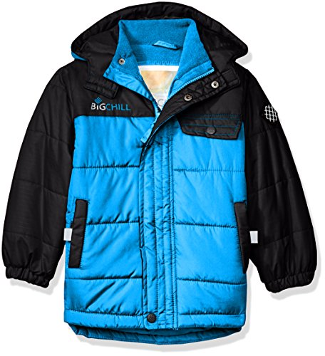 Big Chill Little Boys' Colorblock Bubble Jacket, Be Chill, 6