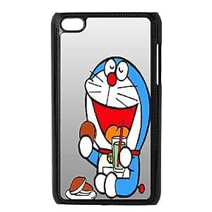 LSQDIY(R) Doraemon iPod Touch 4 Case Cover, Customized iPod Touch 4 Cover Case Doraemon