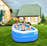 Amy & Delle Inflatable Kiddie Swimming Pool - Large