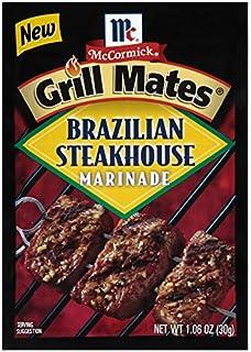 McCormick Grill Mates Brazilian Steakhouse Marinade, 1.06 Oz (Case Of 12)