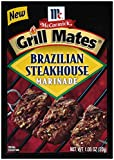 McCormick Grill Mates Brazilian Steakhouse Marinade, 1.06 oz (Case of 12)