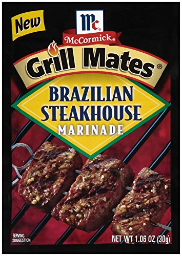(McCormick Grill Mates Brazilian Steakhouse Marinade, 1.06 oz (Pack of 12))