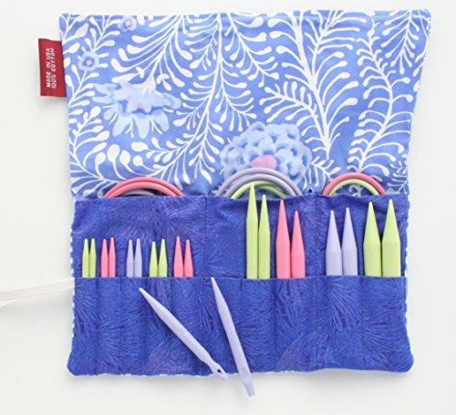 Denise2Go Interchangeable Knitting Needles, Sharp Short Tips Complete (US5-15) (Tendril) by Denise Interchangeable Knitting and Crochet