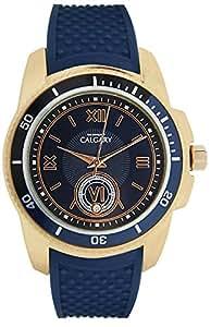 Relojes Calgary Mazzini Midnight Blue - Reloj de Mujer de cuarzo, correa de color azul