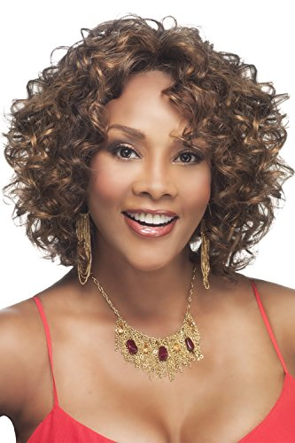 BEVERLY JOHNSON Lace Front Synthetic Wig- CHILLI -Color#1B/27 - Off Black/Blond ()