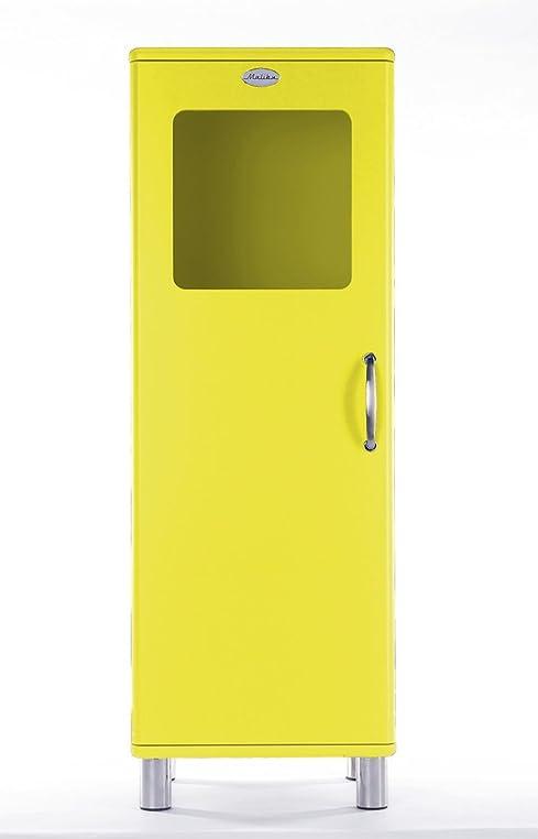 Vitrine / Schrank Malibu 5111 in gelb von Tenzo: Amazon.de: Küche ...