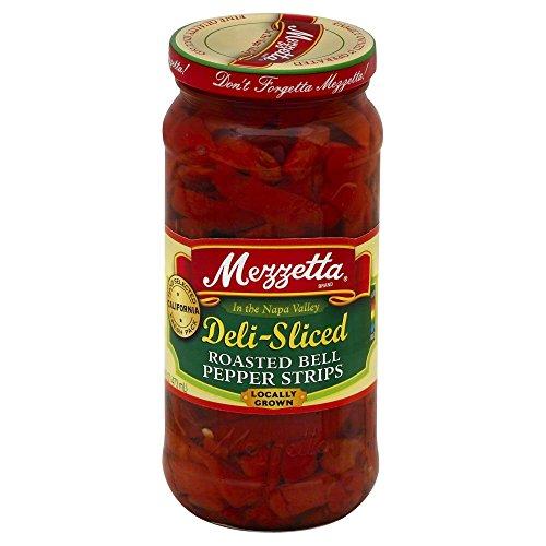 (Mezzetta Sweet Pepper Roasted Deli Sliced 16.0 OZ(Pack of 2))
