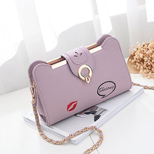 fashion femme la chaîne nouveau sac Violett d'épaule Sacs CJshop sac version la mini Joker de de sac coréenne pour dames sac style sac q1UZ6A