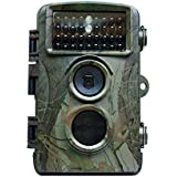 Sumpple HD 12MP 1080P Game Trail Hunting Camera, Low Glow Infrared Night Vision 65ft Wildlife Animal Camera Waterproof Motion Sensor Activated with 34PCs IR, 2.36 LCD, Take Photos and Record Videos