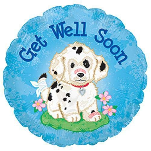 CTI Balloons 114011 Get Well Soon Doggie, 17